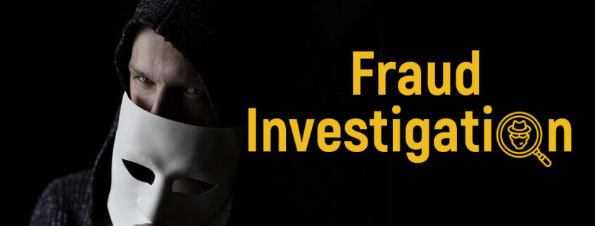 the investigation of check frauds, Los Angeles, PI COST