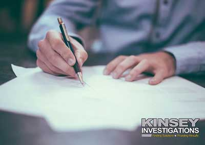 Handwriting Analysis,Private Investigator  los angeles